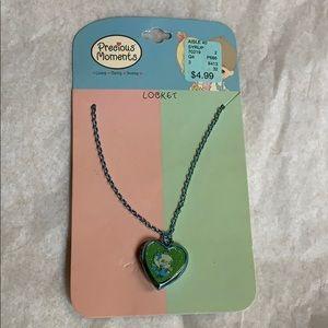 2007 Precious Moments locket necklace new unused